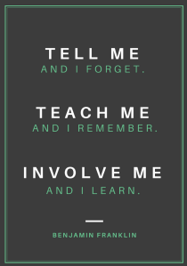 Teach me poster