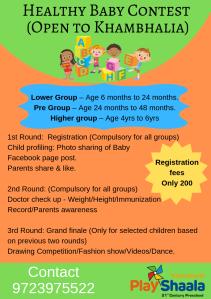 Healthy Baby Contest